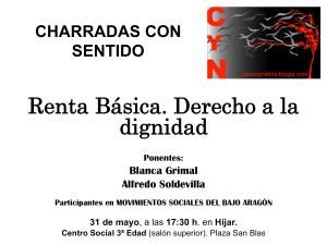 cartel charrada Renta Basica2